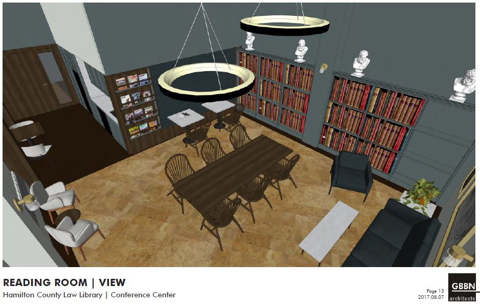 Renovations will soon be underway at the Law Library!
