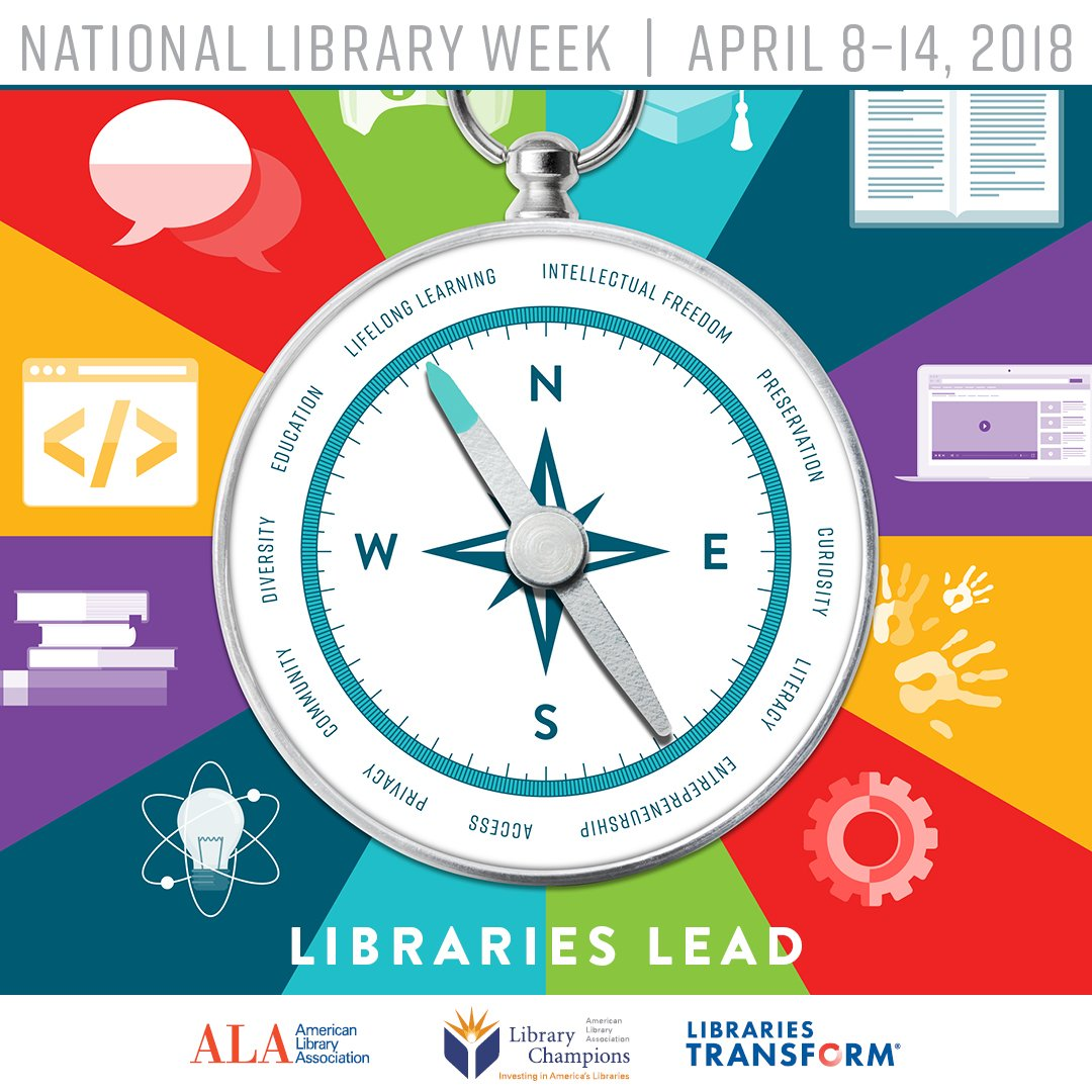 Upcoming Activities for National Library Week!