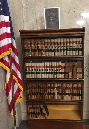 Donated Historical Law Books