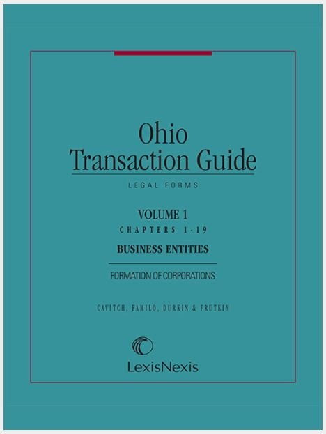 New Ebook set: Ohio Transaction Guide
