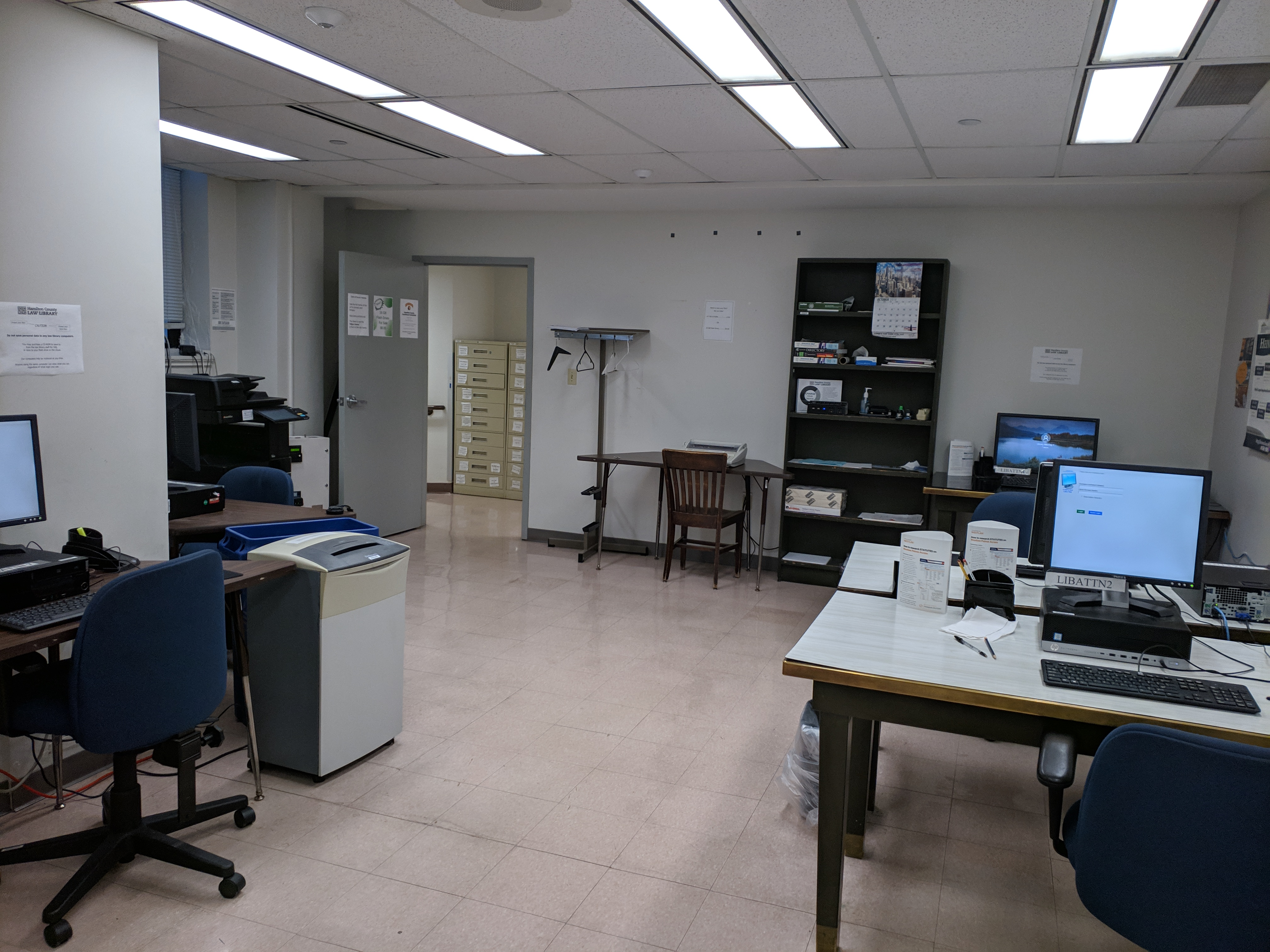 Computers Temporarily Removed from Computer Lab